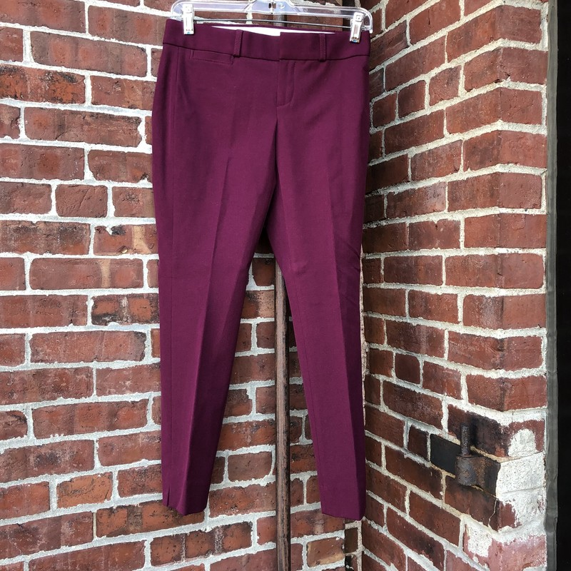 Purple Banana Republic pants, size OOP. New condition.