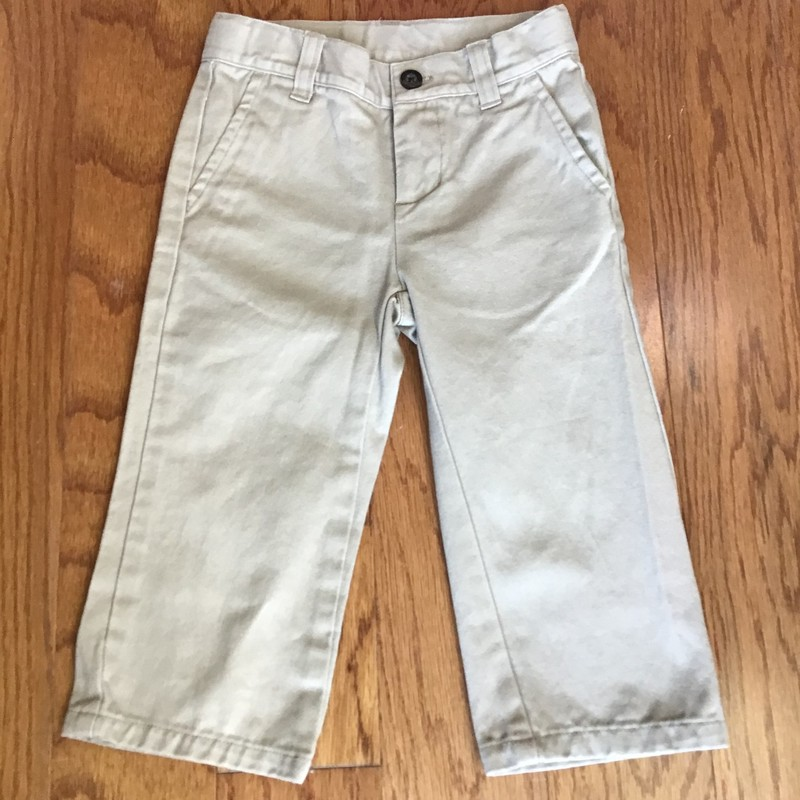 Janie Jack Pant, Khaki, Size: 18-24m<br /> <br /> <br /> ALL ONLINE SALES ARE FINAL. NO RETURNS OR EXCHANGES.