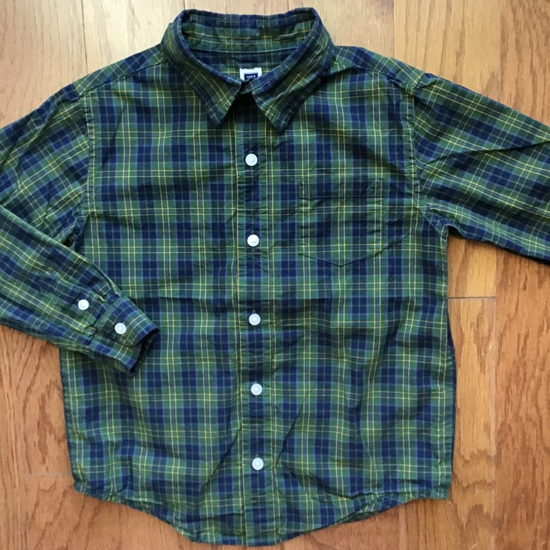 Janie Jack Shirt, Green, Size: 5<br /> <br /> <br /> ALL ONLINE SALES ARE FINAL. NO RETURNS OR EXCHANGES.
