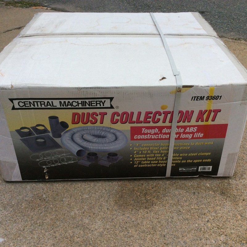 CENTRAL MACHINERY Dust Collector Accessory Kit.<br /> *NEW IN BOX*