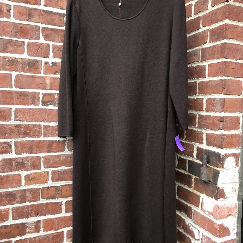 Nino Colombo Sweaterdress, Brown, Size: XLarge<br /> High end Maker, Made in Italy. Available in Europe over $900