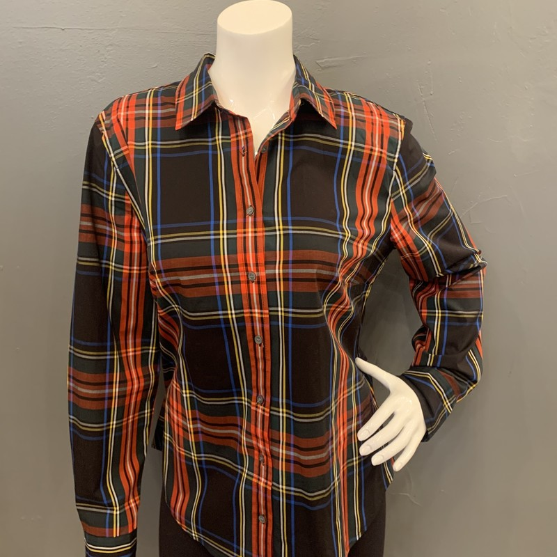 JCrew Tartan Slim BU, Multi, Size: 14<br /> <br /> 98% Cotton, 2% Elastane<br /> <br /> New With Tags<br /> Original Retail: $79