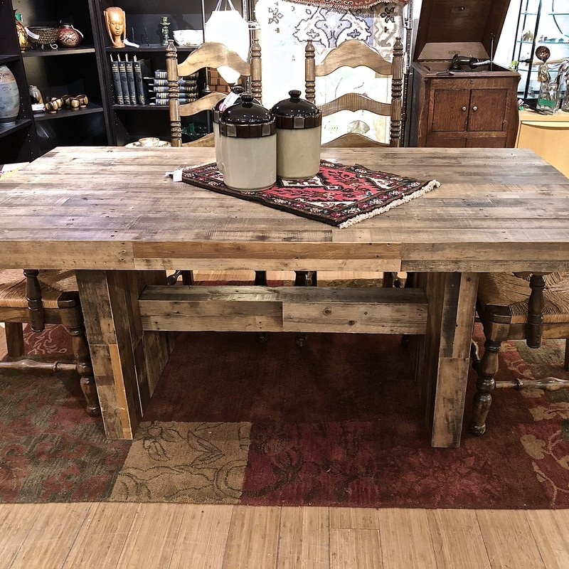 Table Dining West Elm, , Size: 39x72<br /> Rustic, but fits into city or mountain decor.