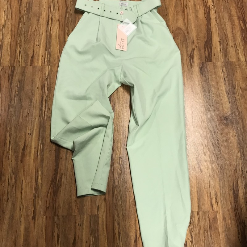 Oh Polly Pants, Mint Gre, Size: 2