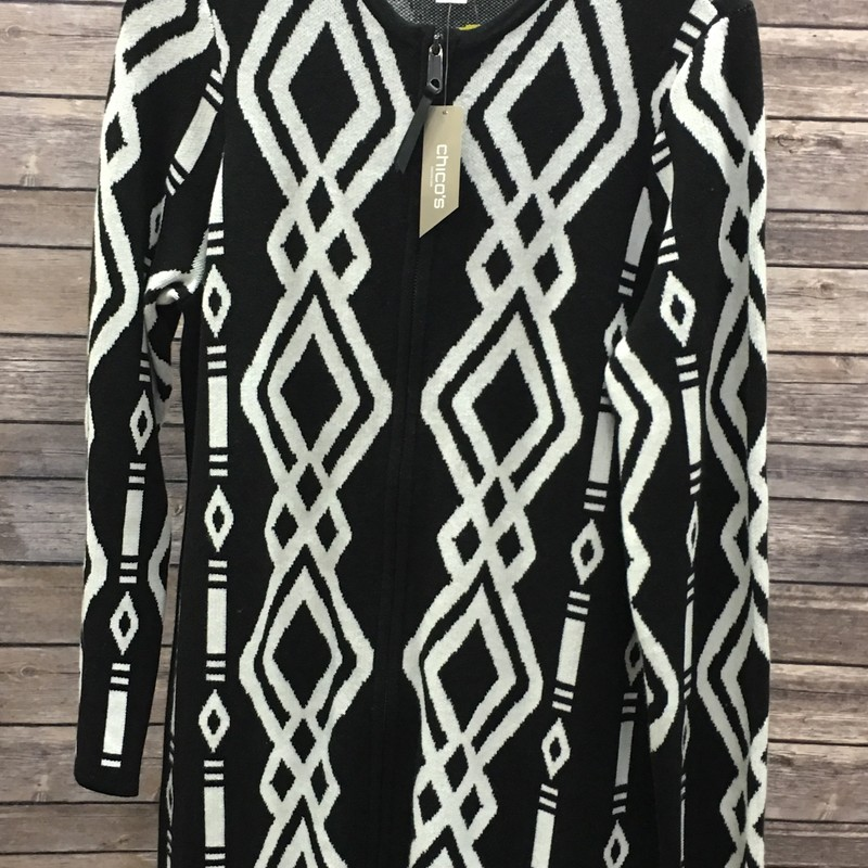 New Chicos Dress, Black, Size: Medium<br /> Originally $129