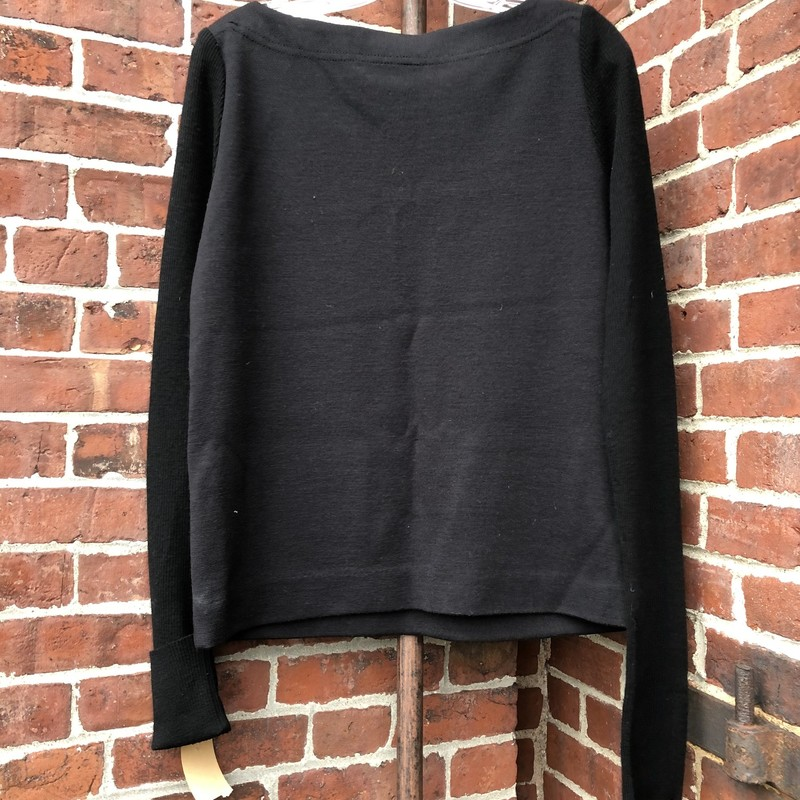 Tory Burch Black Sweater, Black, Size: Large