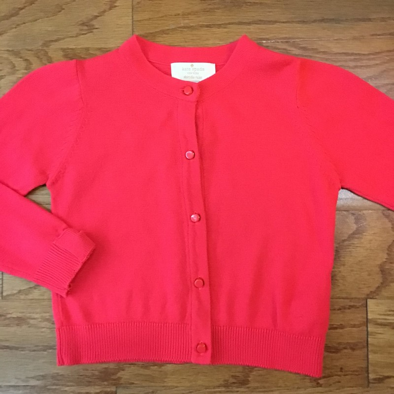 Kate Spade Cardigan, Coral, Size: 4<br /> <br /> <br /> ALL ONLINE SALES ARE FINAL. NO RETURNS OR EXCHANGES.