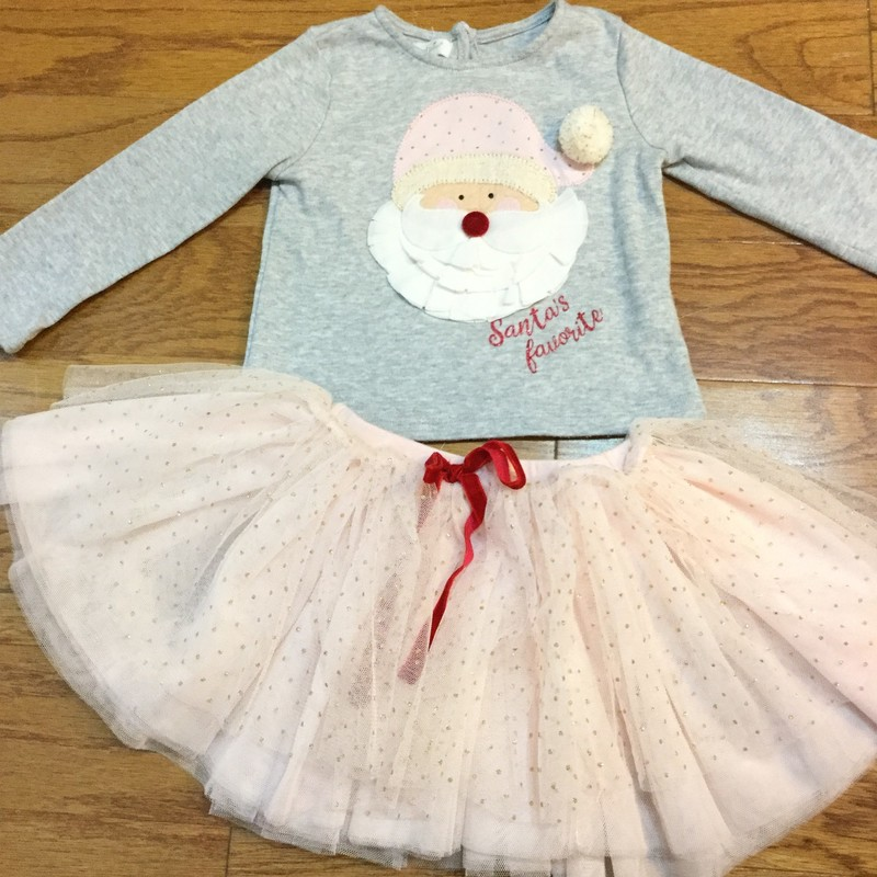 Mudpie 2pc Outfit, Gray, Size: 12-18m<br /> <br /> <br /> ALL ONLINE SALES ARE FINAL. NO RETURNS OR EXCHANGES.
