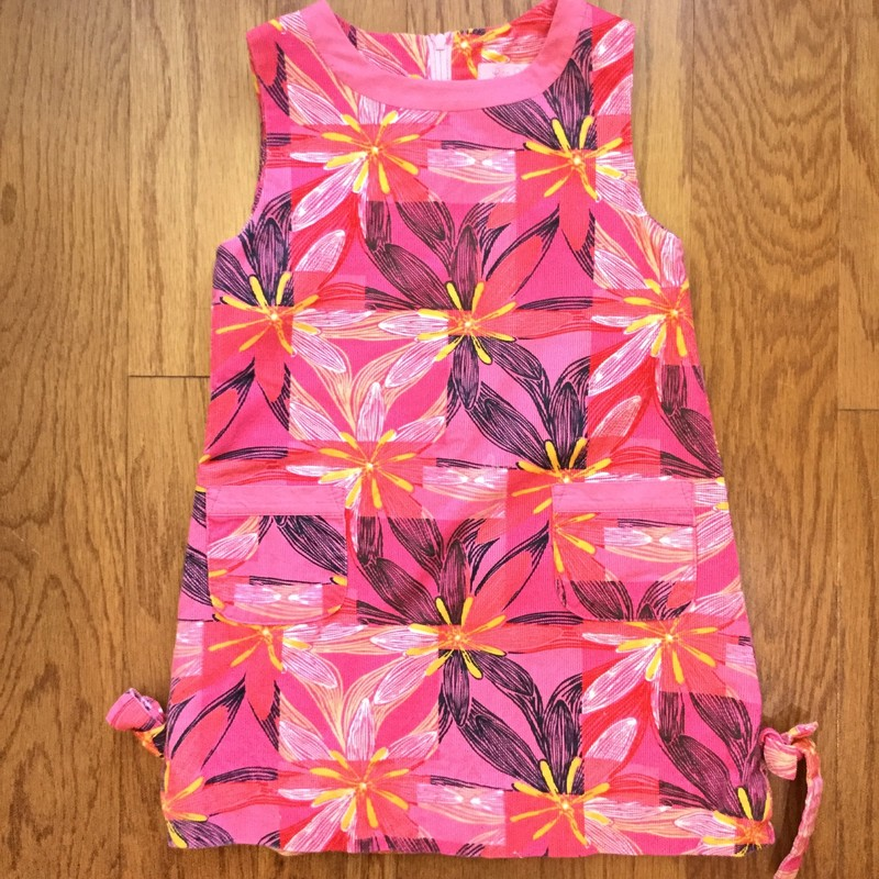 Lilly Pulitzer Cord Dress, Pink, Size: 3<br /> <br /> <br /> ALL ONLINE SALES ARE FINAL. NO RETURNS OR EXCHANGES.