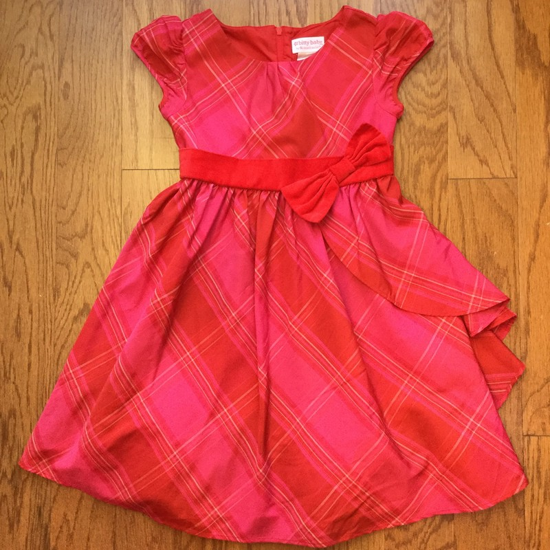 American Girl Dress, Red, Size: 6<br /> <br /> <br /> ALL ONLINE SALES ARE FINAL. NO RETURNS OR EXCHANGES.