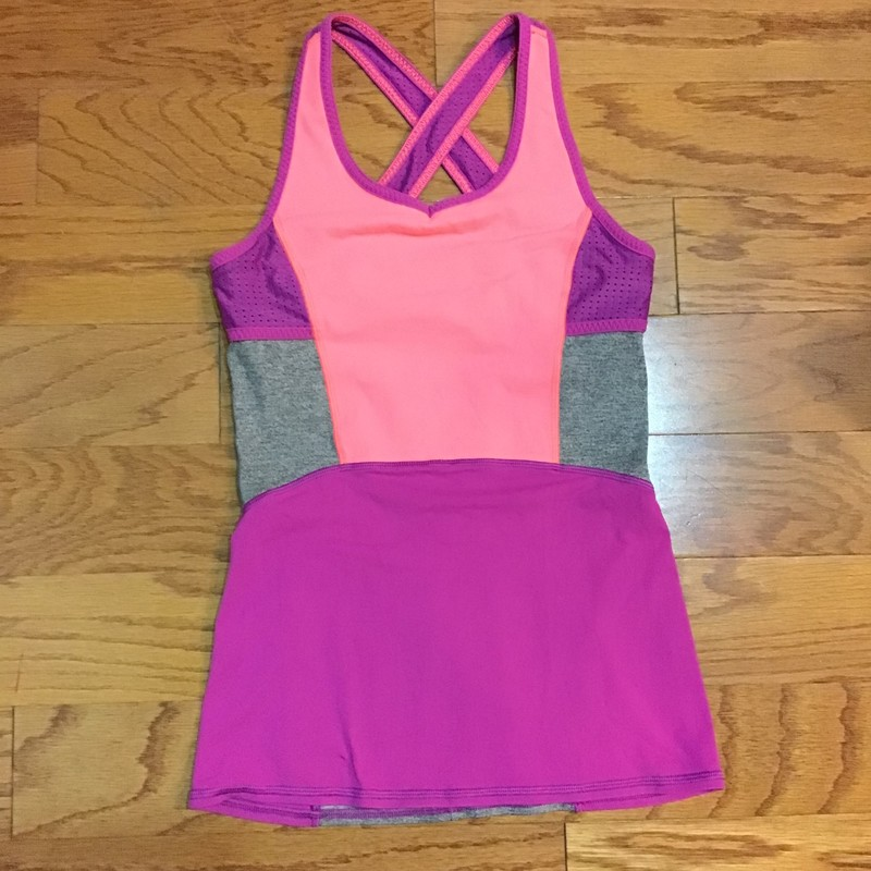 Ivivva Tank, Multi, Size: 12<br /> <br /> <br /> ALL ONLINE SALES ARE FINAL. NO RETURNS OR EXCHANGES.