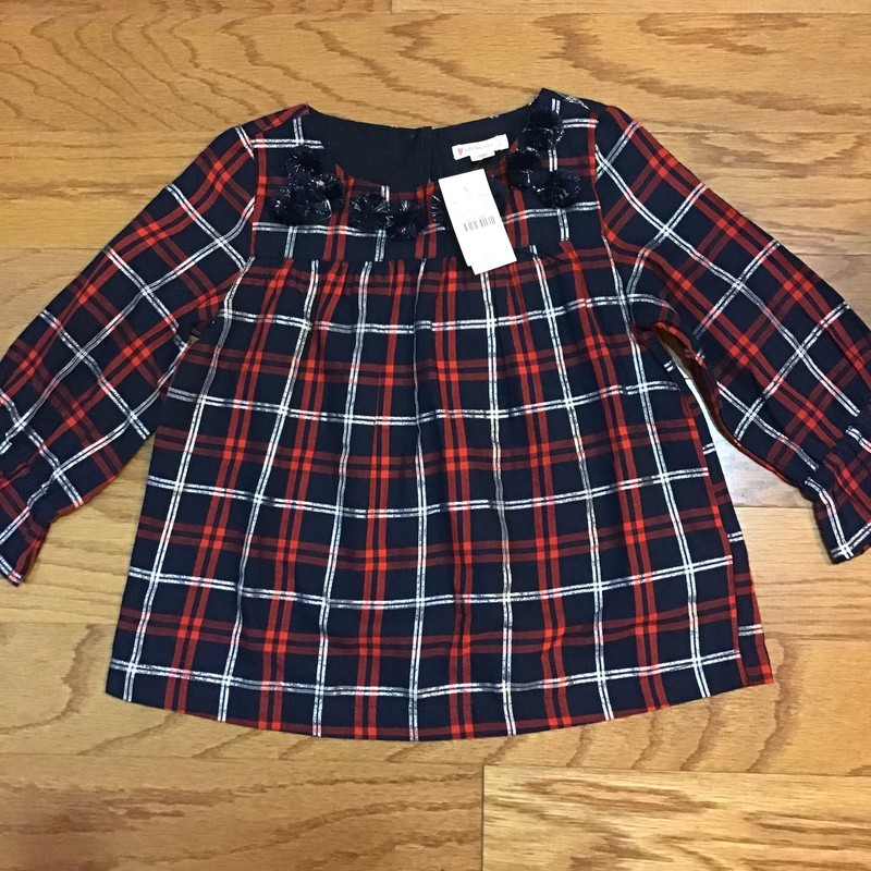 Crewcuts Shirt NEW, Plaid, Size: 6<br /> <br /> <br /> BRAND NEW WITH $55 TAG<br /> <br /> <br /> ALL ONLINE SALES ARE FINAL. NO RETURNS OR EXCHANGES.