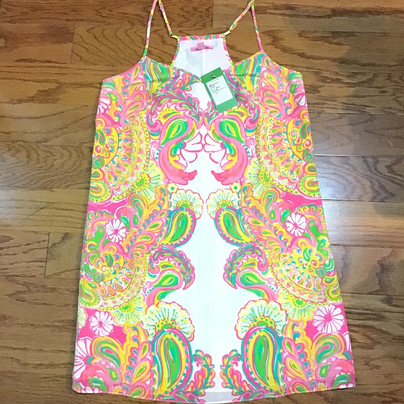 Lilly Pulitzer Dress NEW, Multi, Size: Small<br /> <br /> BRAND NEW WITH $198 TAG!<br /> <br /> WOMENS SIZE<br /> <br /> ALL ONLINE SALES ARE FINAL. NO RETURNS OR EXCHANGES.