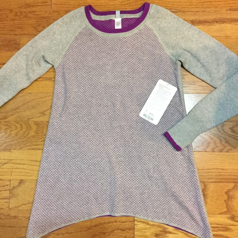 Ivivva Sweater Dress NEW, Gray, Size: 14<br /> <br /> <br /> BRAND NEW WITH $64 TAG<br /> <br /> <br /> ALL ONLINE SALES ARE FINAL. NO RETURNS OR EXCHANGES.