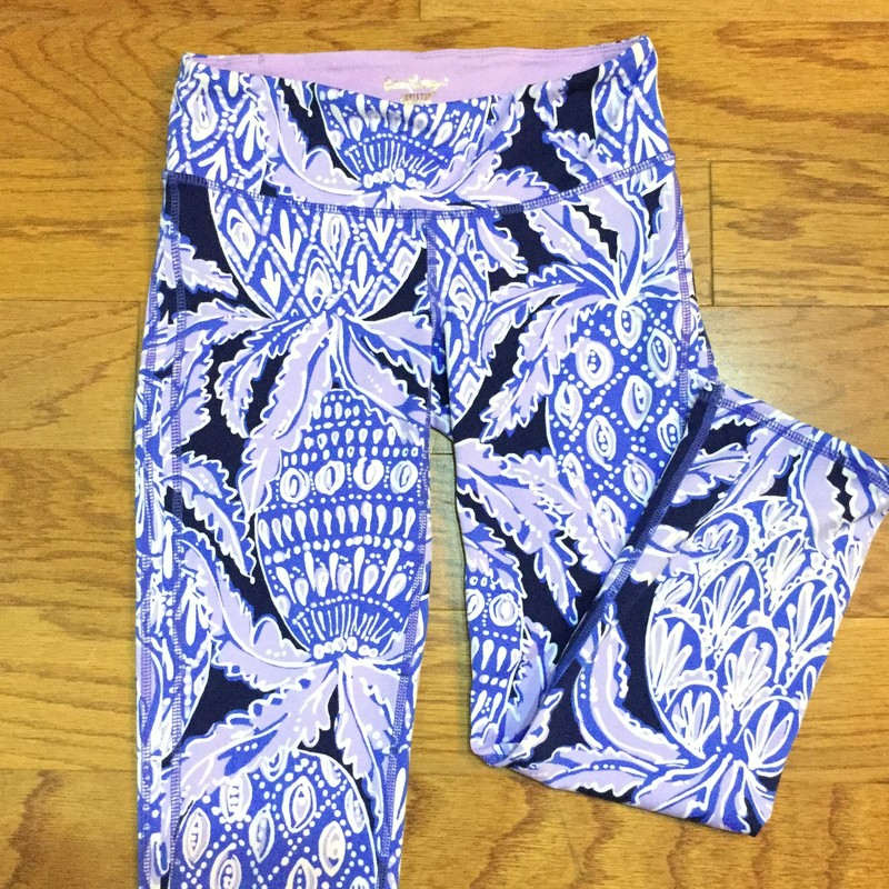 Lilly Pulitzer Pant, Purple, Size: XS<br /> <br /> <br /> WOMENS SIZE<br /> <br /> <br /> ALL ONLINE SALES ARE FINAL. NO RETURNS OR EXCHANGES.
