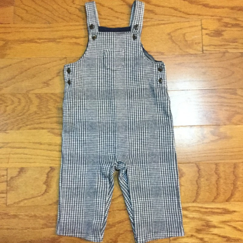 Janie Jack Overalls, Blue, Size: 6-12m<br /> <br /> <br /> ALL ONLINE SALES ARE FINAL. NO RETURNS OR EXCHANGES.