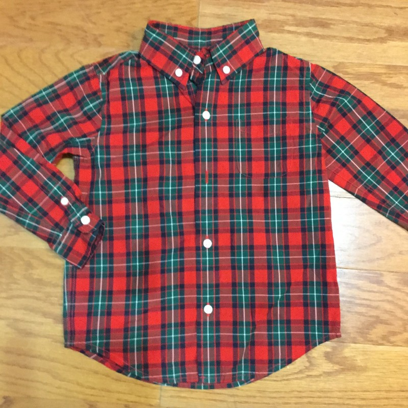 Janie Jack Shirt, Plaid, Size: 12-18m<br /> <br /> <br /> ALL ONLINE SALES ARE FINAL. NO RETURNS OR EXCHANGES.