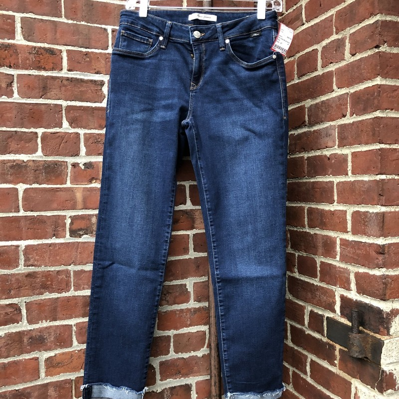 Mavi Ada Boyfriend Jeans, Blue, Size: 27<br /> Premium jeans, like new with stretch