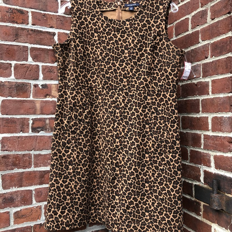 Landsend Knit Tunic, Leopard, Size: 14<br /> Very comfortable