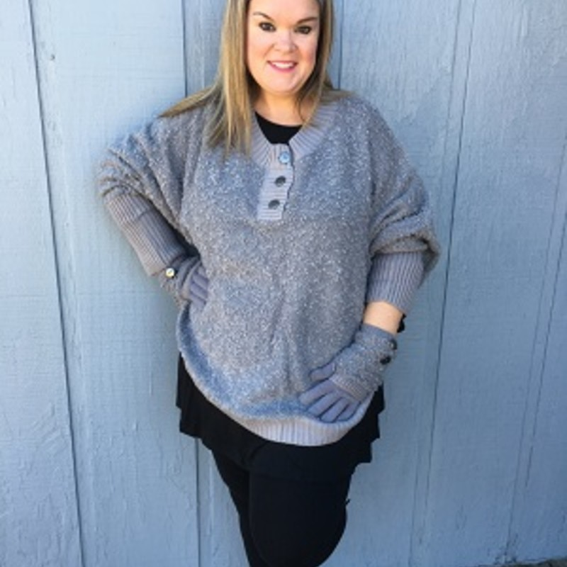 Tonya looks amazing in our Simply Noelle Headband. It goes perfect with our Simply Noelle Sweater and Scarf (sold separatley).<br /> 72% Polyester<br /> 28% Acrylic