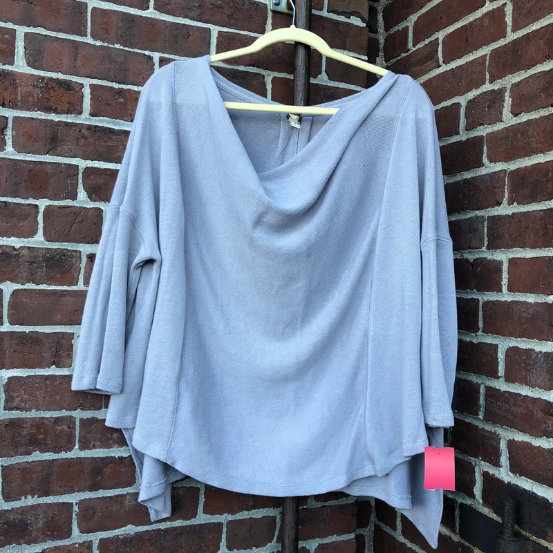 Free People Sweater, Gray, Size: Small