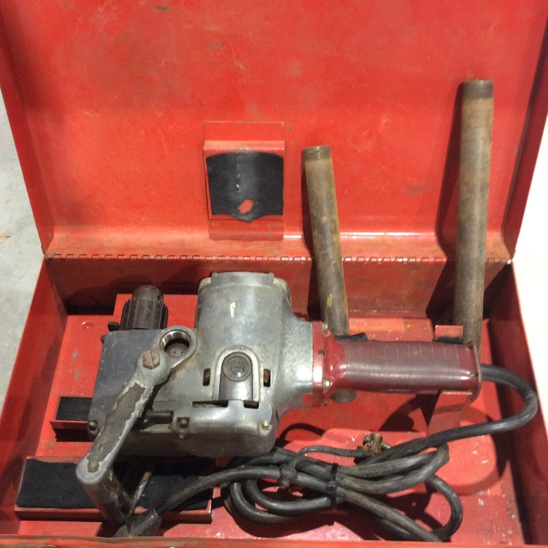"Milwaukee 1/2"" Hole Hawg with Forward / Reverse & Chuck Key"