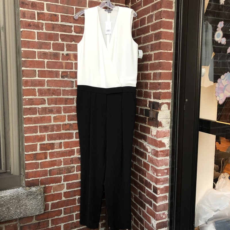 Vince Jumpsuit NWT $395, B/w, Size 12. New with tags, formal jumpsuit.