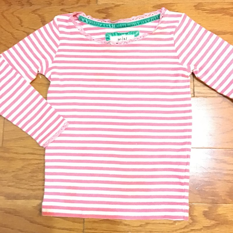 Mini Boden Shirt, Pink, Size: 2-3<br /> <br /> <br /> ALL ONLINE SALES ARE FINAL. NO RETURNS OR EXCHANGES.