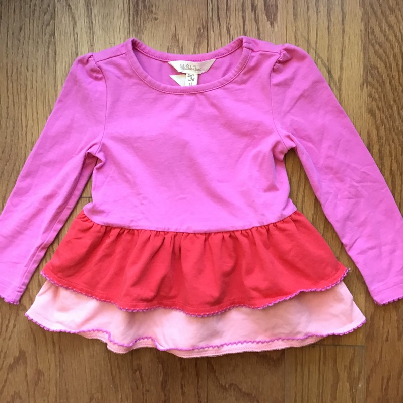 Matilda Jane Shirt, Pink, Size: 2<br /> <br /> <br /> ALL ONLINE SALES ARE FINAL. NO RETURNS OR EXCHANGES.
