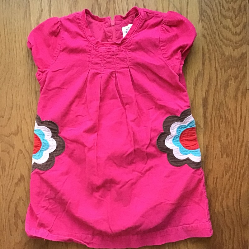 Mini Boden Dress, Pink, Size: 3-4<br /> <br /> <br /> ALL ONLINE SALES ARE FINAL. NO RETURNS OR EXCHANGES.
