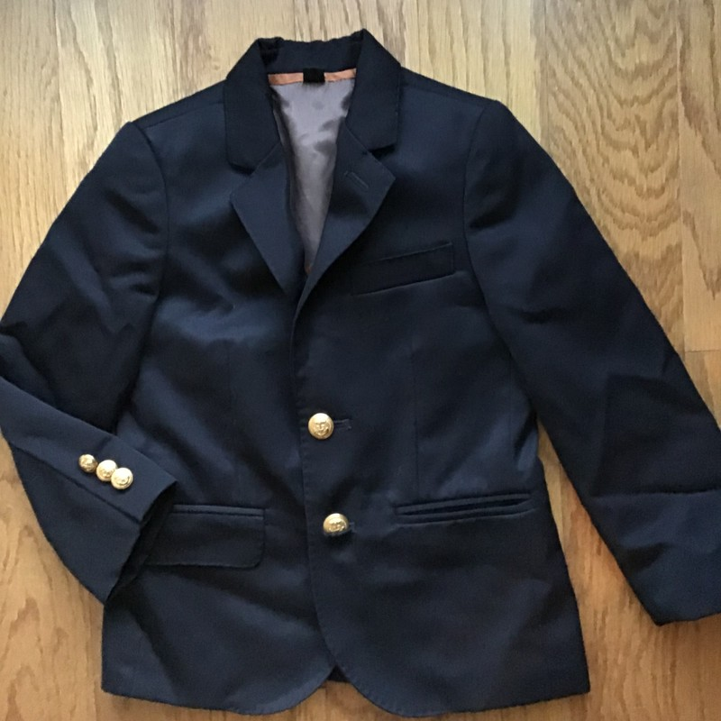 Crewcuts Blazer Jacket, ., Size: 4<br /> <br /> <br /> ALL ONLINE SALES ARE FINAL. NO RETURNS OR EXCHANGES.
