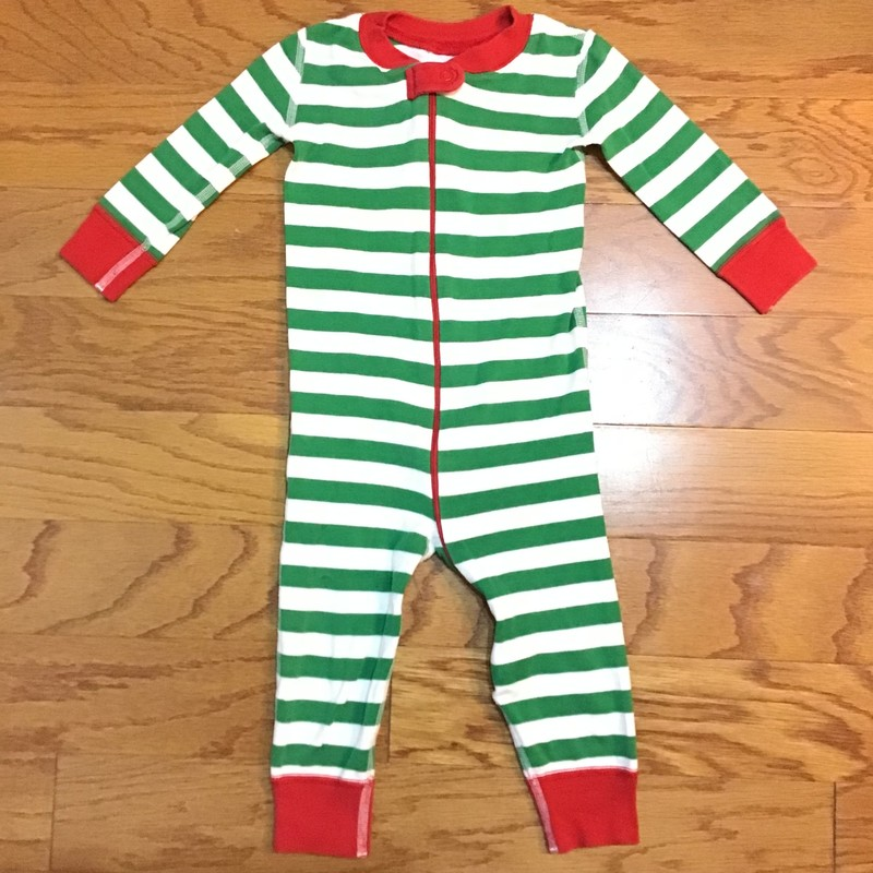 Hanna Andersson Pj, Green, Size: 18-24m<br /> <br /> <br /> ALL ONLINE SALES ARE FINAL. NO RETURNS OR EXCHANGES.
