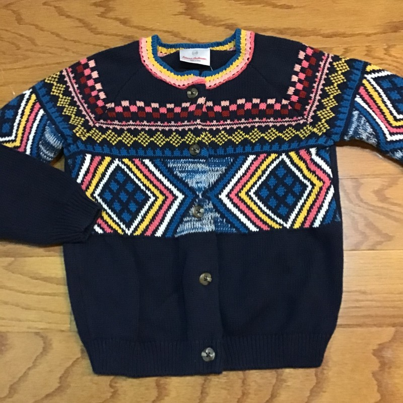 Hanna Andersson Sweater, Navy, Size: 5<br /> <br /> <br /> ALL ONLINE SALES ARE FINAL. NO RETURNS OR EXCHANGES.