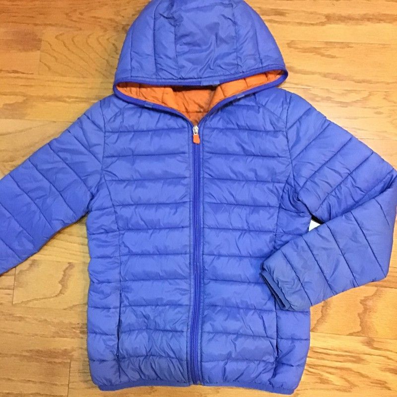 Save The Duck Coat, Blue, Size: 12<br /> <br /> <br /> RETAILS FOR $150<br /> <br /> <br /> ALL ONLINE SALES ARE FINAL. NO RETURNS OR EXCHANGES.