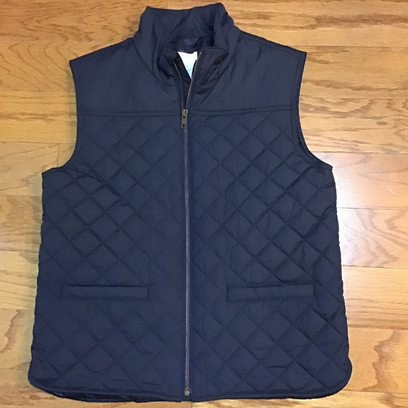 Crewcuts Vest, Navy, Size: 12<br /> <br /> <br /> ALL ONLINE SALES ARE FINAL. NO RETURNS OR EXCHANGES.
