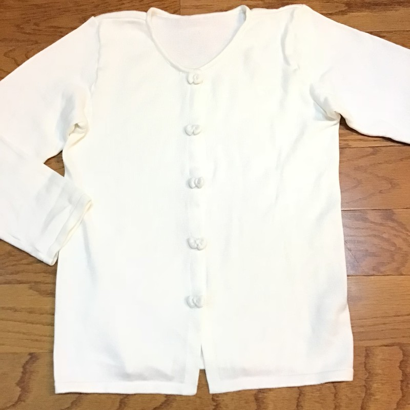 Strasburg Cardigan, White, Size: 8-10<br /> <br /> <br /> ALL ONLINE SALES ARE FINAL. NO RETURNS OR EXCHANGES.