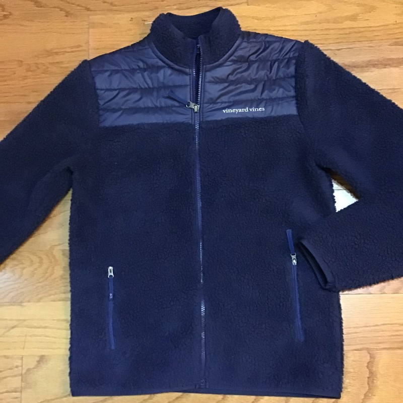 Vineyard Vines Jacket, Blue, Size: 16<br /> <br /> <br /> ALL ONLINE SALES ARE FINAL. NO RETURNS OR EXCHANGES.