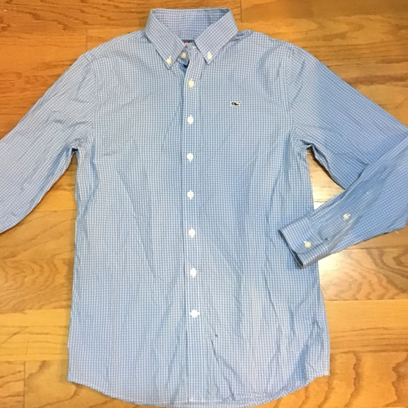 Vineyard Vines Shirt, Green, Size: 16<br /> <br /> <br /> ALL ONLINE SALES ARE FINAL. NO RETURNS OR EXCHANGES.