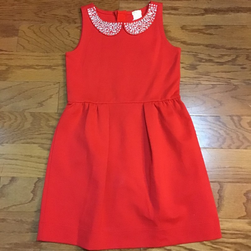 Crewcuts Dress, Red, Size: 8<br /> <br /> <br /> ALL ONLINE SALES ARE FINAL. NO RETURNS OR EXCHANGES.
