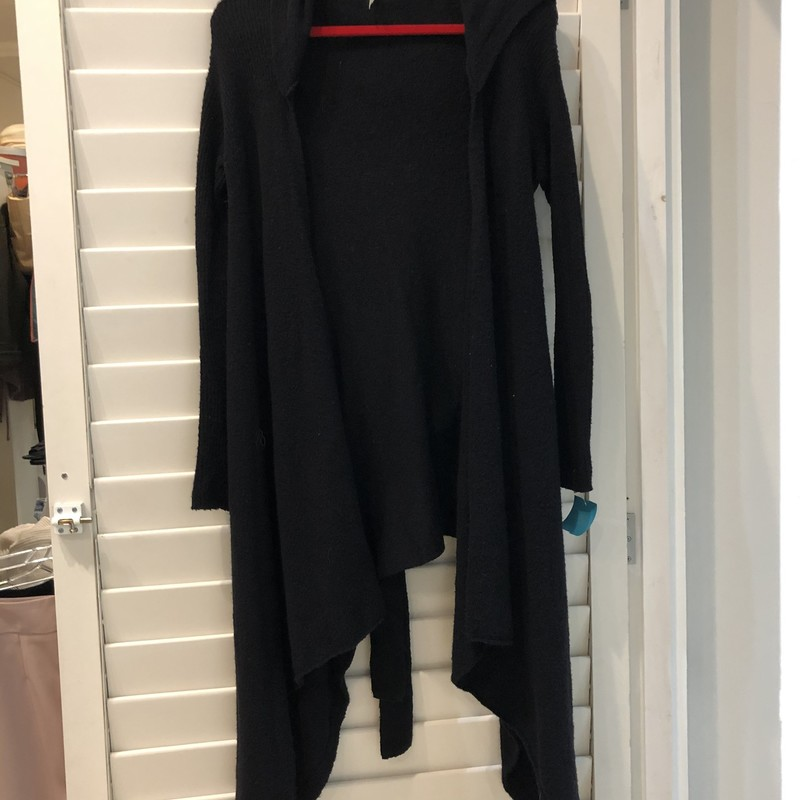 Free People sweater in black.  Size SP