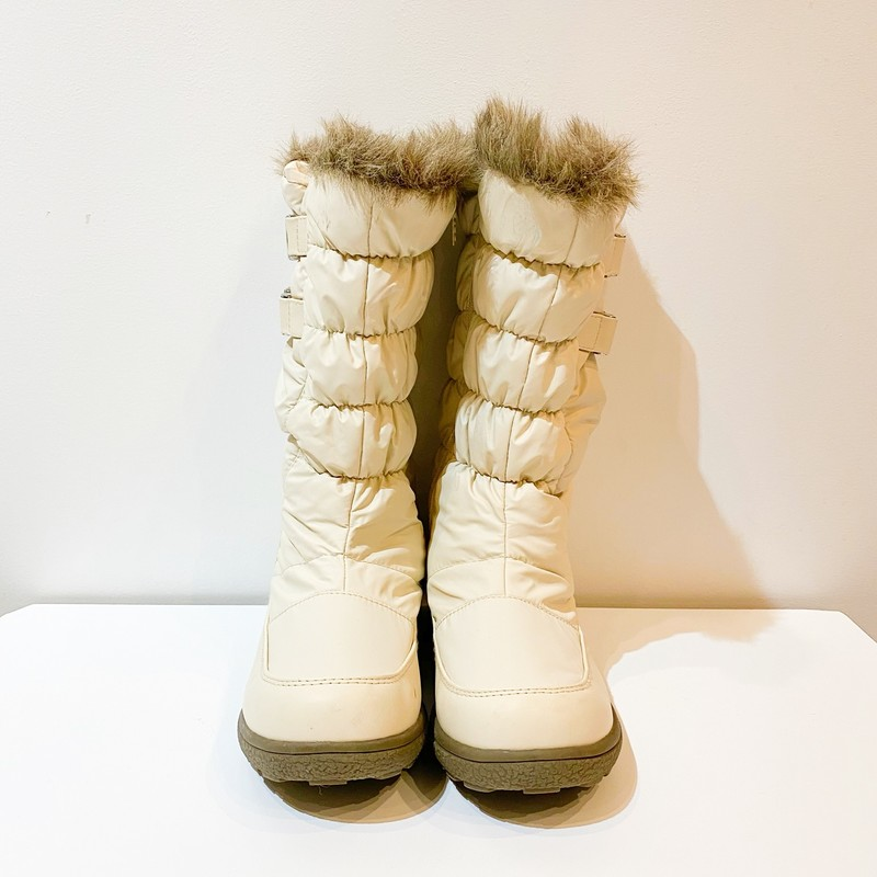TOTE BOOTS, White, Size: 8.5<br /> excellent condition