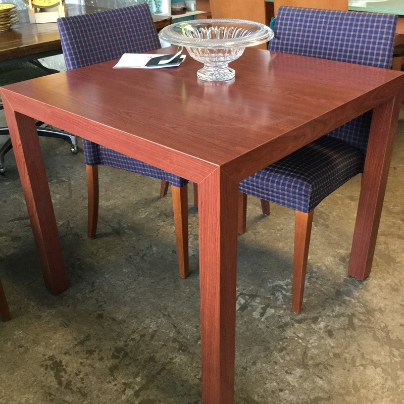 Wood Dining Table, 33x33, Size: Square