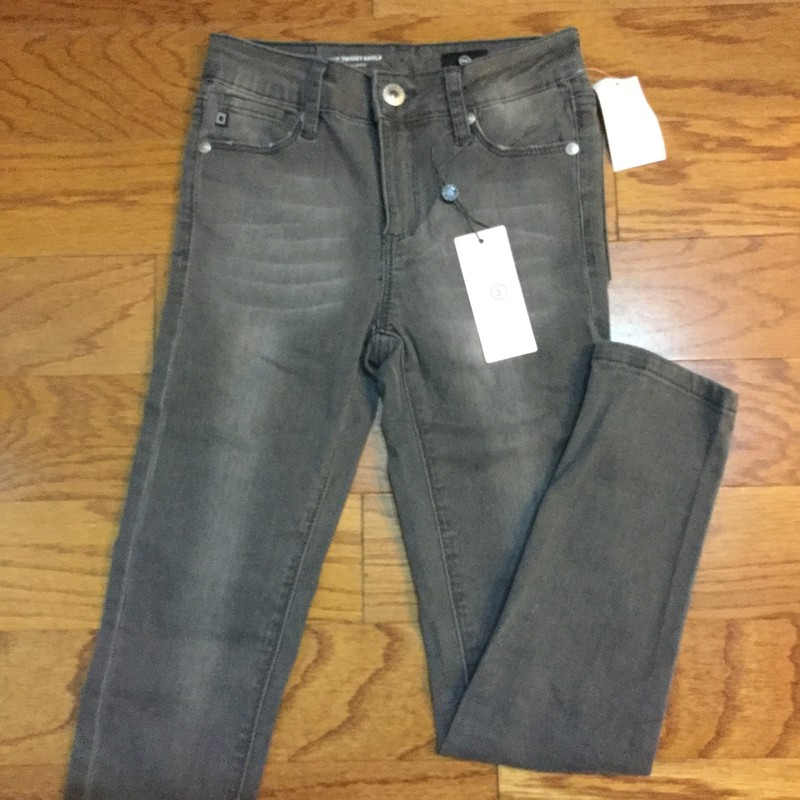AG Pant NEW R$59, Gray, Size: 12<br /> <br /> <br /> BRAND NEW WITH $59 TAG<br /> <br /> <br /> ALL ONLINE SALES ARE FINAL. NO RETURNS OR EXCHANGES.