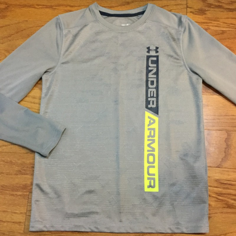 Under Armour Shirt, Gray, Size: Medium<br /> <br /> <br /> ALL ONLINE SALES ARE FINAL. NO RETURNS OR EXCHANGES.