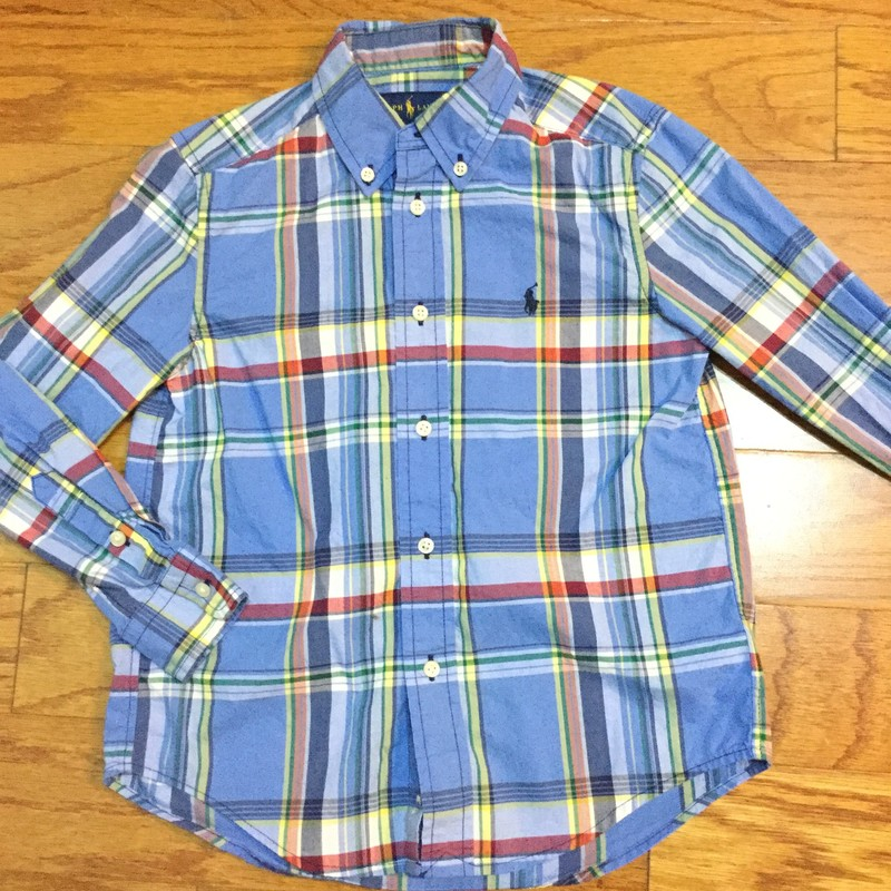 Ralph Lauren Shirt, Blue, Size: 6<br /> <br /> <br /> ALL ONLINE SALES ARE FINAL. NO RETURNS OR EXCHANGES.