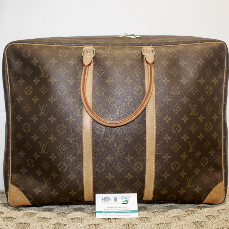 Louis Vuitton Luggage, Mono, Size: 50, Certificate of Authenticity included