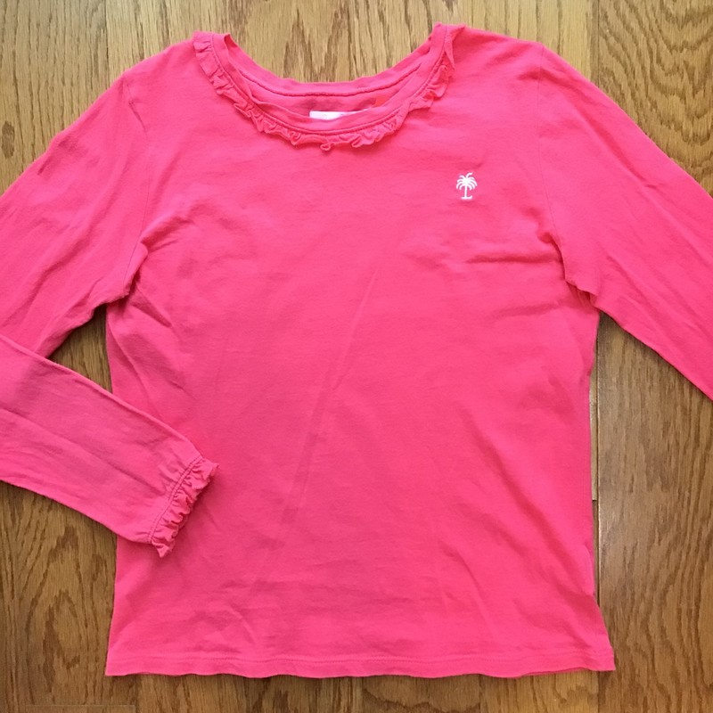 Lilly Pulitzer Shirt, Pink, Size: 8-10<br /> <br /> <br /> ALL ONLINE SALES ARE FINAL. NO RETURNS OR EXCHANGES.