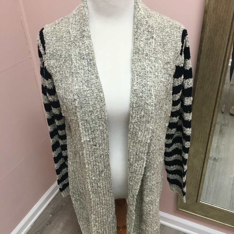 Eleven Star Cardi, Gray, Size: Medium