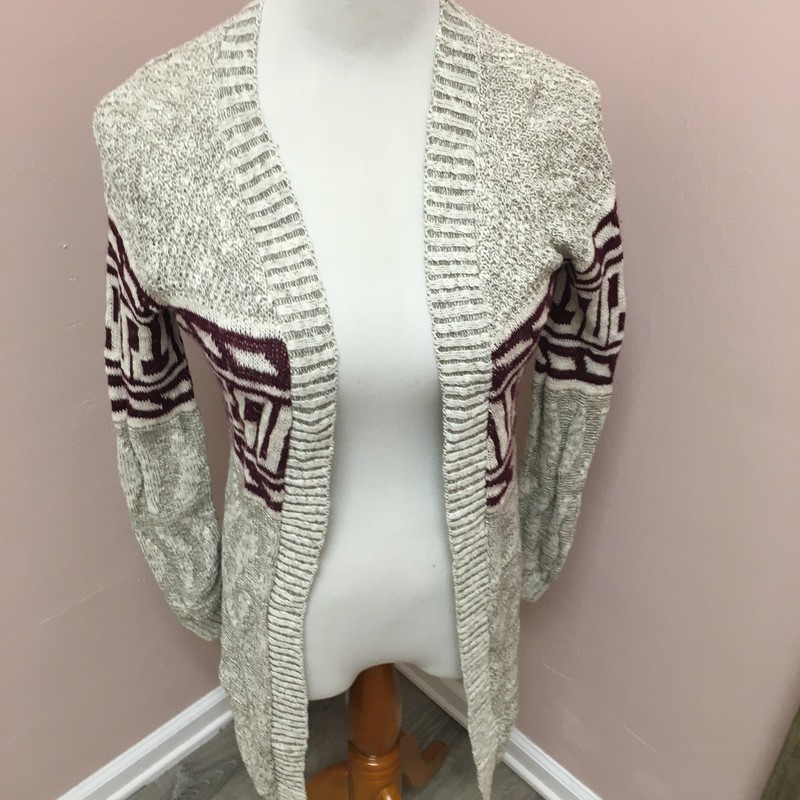Cardigan, Multi, Size: Medium