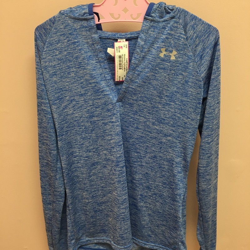 Under Armour  Hooded Pullover, Blue, Size: XS